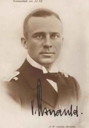 Lothar Von Arnaud de la Pereire. Foto del libro TIBURONES DE ACERO.JPG