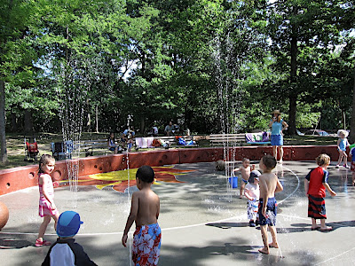 Hayes Park -- Sprayground & Playground