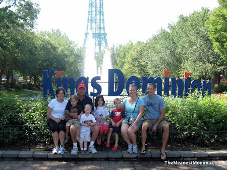 Getting our Ride On at Kings Dominion