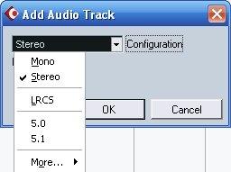 Add Audio Track