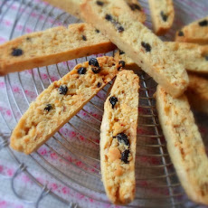 Blueberry & Hazelnut Biscotti