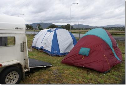 Campsite at Tamworth