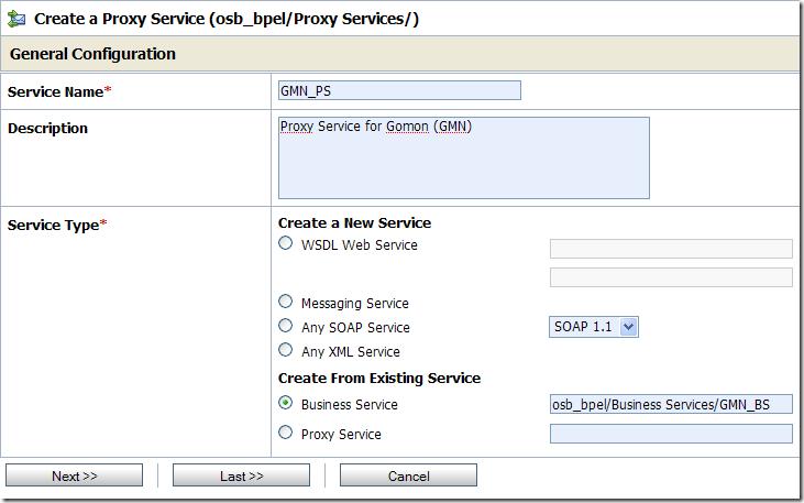 GMN Proxy Service