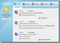 comodo skin blue