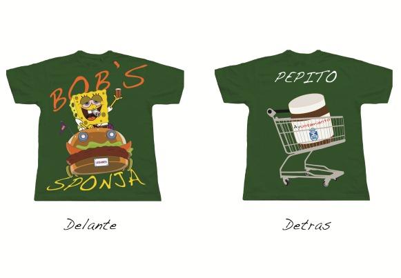 2 Camisetas de la peña