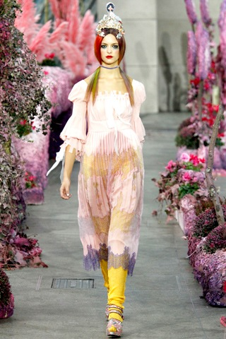 London Fashion Week Meadham Kirchoff