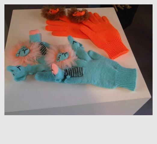 Yang Du Gloves London Fashion Week