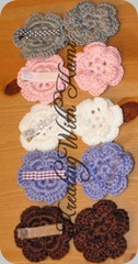crochet flower clips 05_18_10