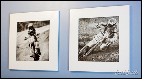 MX Racing Photo Framed  20x20