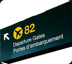 Gate Sign