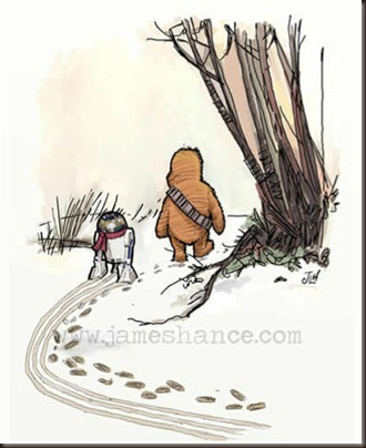 Wookie the Pooh Looks for the Jabbalump
