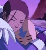 Aang hug