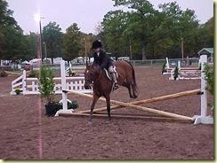 Leola jumping