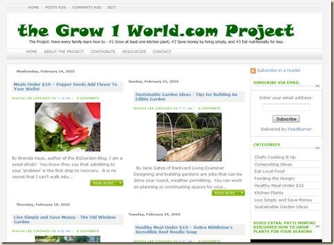 Grow1World