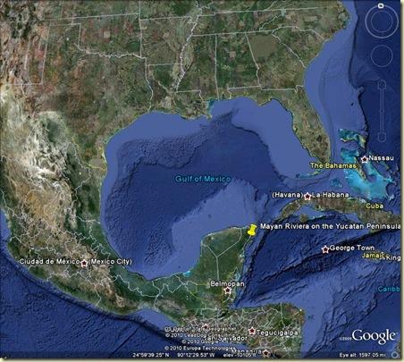 Mayan Riviera Location