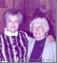 Aunt Loretta and Grandma Riggle