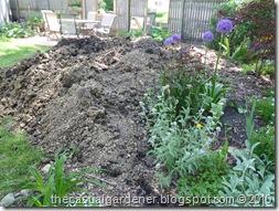 Soil extending berm