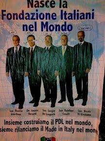 Manifesto Fondazione italiani nel mondo