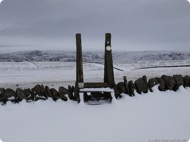 deep teesdale snow