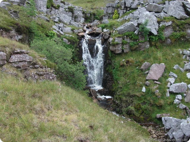 waterfall on foel fraith