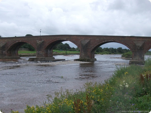 bridge over the esk longtown