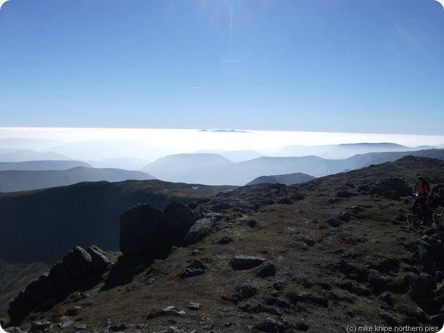 inversion on aran fawddwy