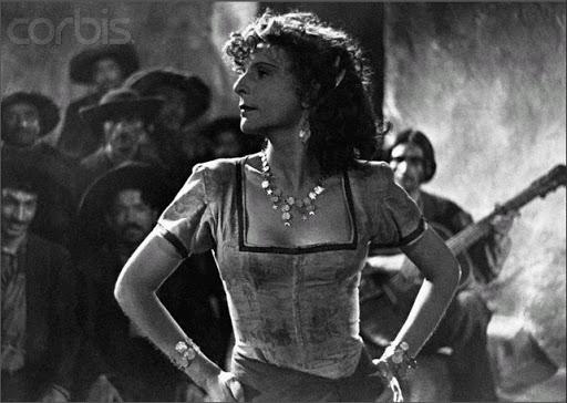 Leni Riefenstahl in 'Tiefland'