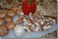 Mushroom-bell pepper-chicken soup (2)