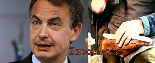 Apellidos curiosos: José Luis Rodríguez Zapatero y su apellido