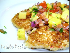 Brazilian Chicken Cutlets with Raw Tropical Sauce Krista Kooks 3