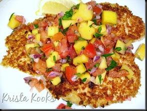 Brazilian Chicken Cutlets with Raw Tropical Sauce Krista Kooks 4