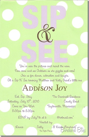 Addison's Sip and See Invitation Edited