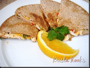Crab Quesadillas 2