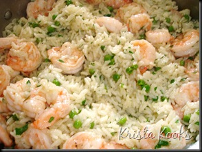Shrimp, Peas and Rice Krista Kooks