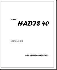 hadis 40