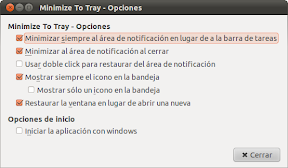 Thunderbird minimizado al area de notificacin