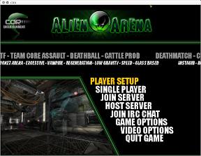 Probando Alien Arena en Ubuntu