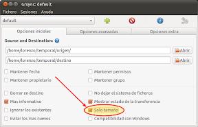 Grsync: default _013