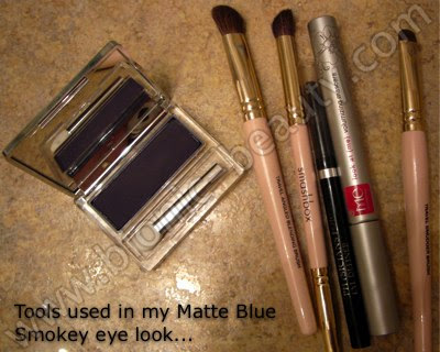 Tools I used to create this makeup look