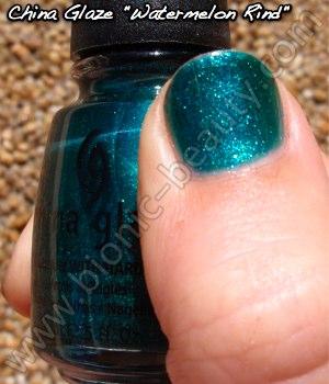 China Glaze Summer Days 2009 nail polish in Watermelon Rind