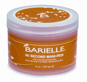 Bionic Beauty blog reviews Barielle 60 second Mani Pedi scrub