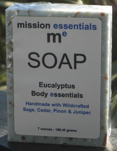 Bionic Beauty blog review - Mission Essentials all-natural Eucalyptus soap