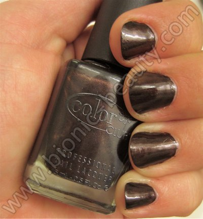 Bionic Beauty review and swatch - Color Club's Nothing but Truffle nail polish