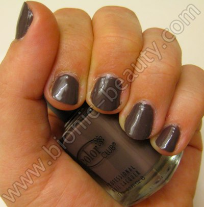 Bionic Beauty review and swatch - Color Club's Positively Posh nail polish