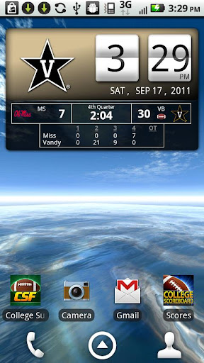 Vanderbilt Live Clock