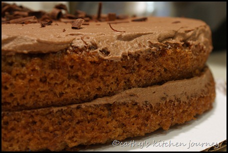 cathy's kitchen journey: Walnut Mocha Torte