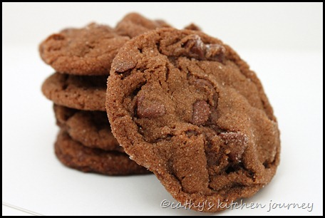 chocolate gingerbread cookies2