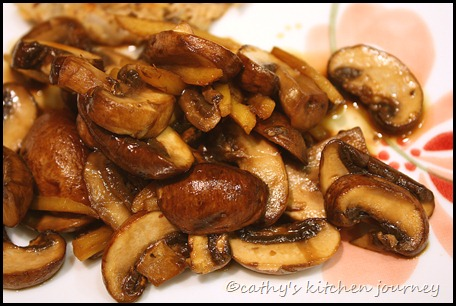 ginger mushrooms