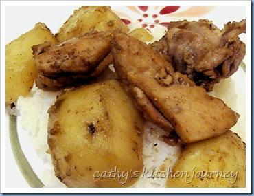 curry chix potatoes