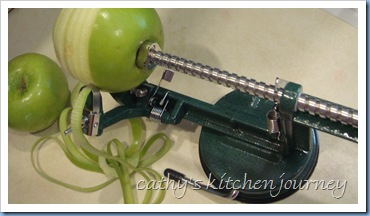 apple corer slicer peeler